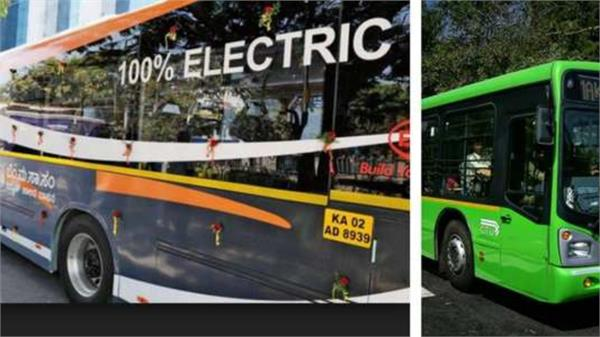electric buses in chandigarh