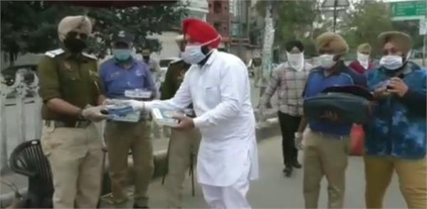 punjab police pizzas