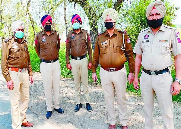 corona virus  government of punjab  police