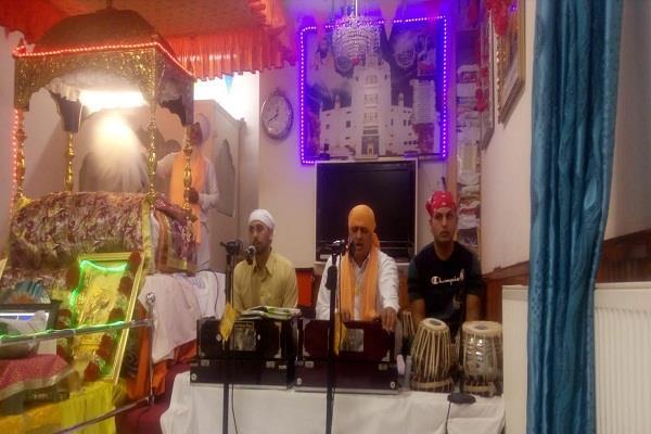 guru ravidas sabha  celebrated  gurpurb event