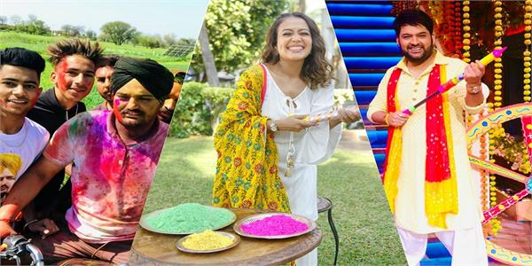 sepical holi pollywood wishes to fans