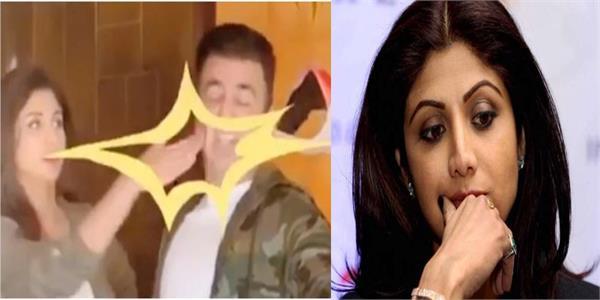 shilpa shetty slaps her husband raj kundra