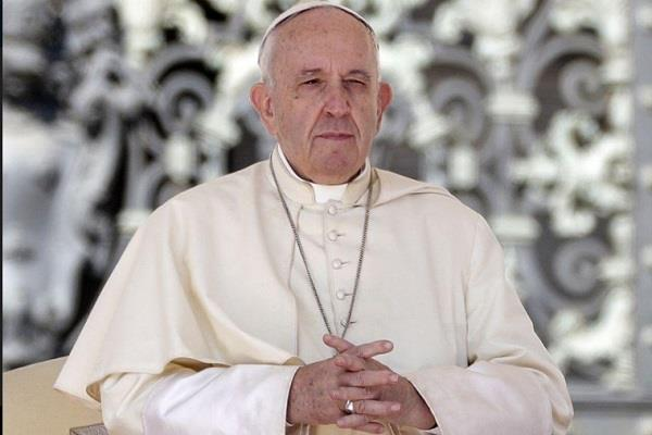 pope francis visits two church corona