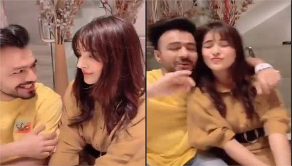 shehnaz gill flirts with tony kakkar in new tiktok video