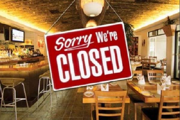 corona virus constantly deteriorating restaurant closed