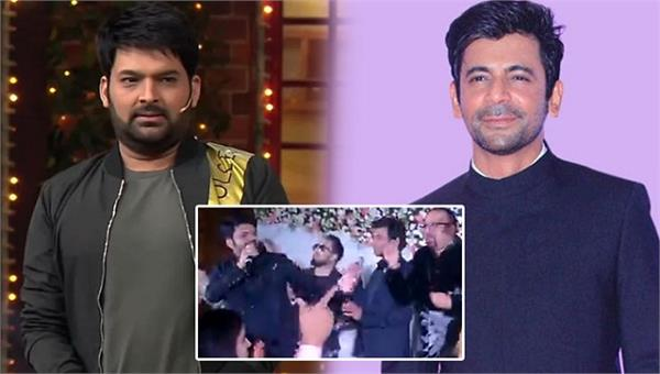 when kapil sharma reunited with sunil grover at a wedding