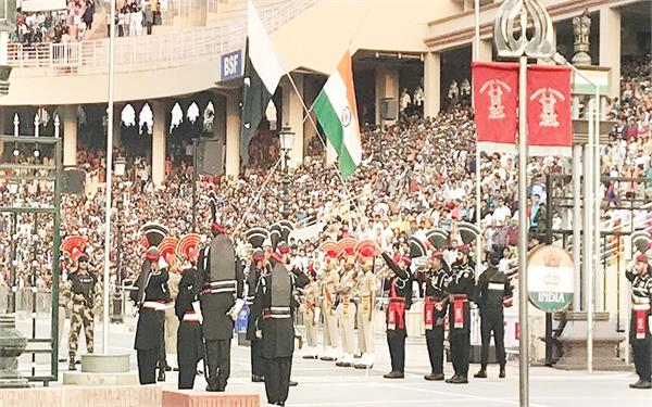 corona virus  wagah border  retreat ceremony