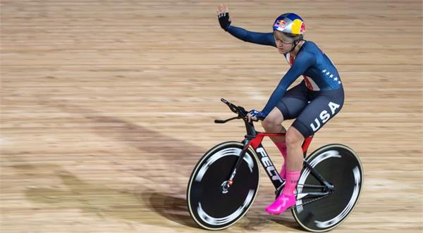 american cycling star chloe diegert wins title with new world record