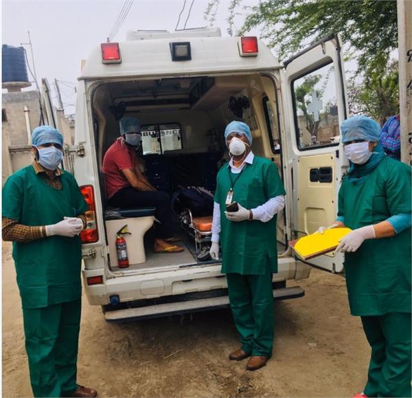 jalalabad corona suspected patients in isolation ward