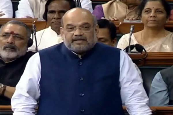 amit shah is replying on delhi violence in lok sabha