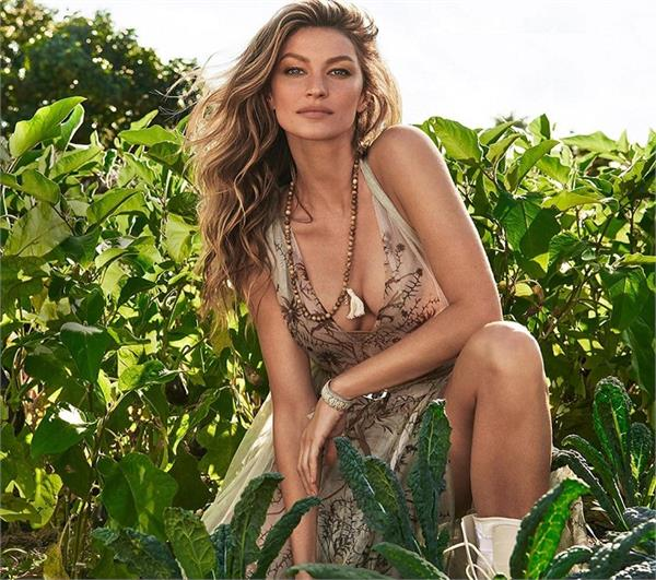 gisele s message of saving the earth and making it beautiful