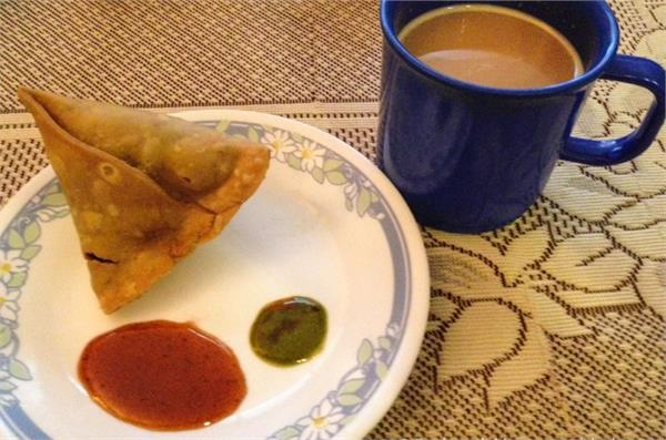 tea samosa in the evening is dangerous for health