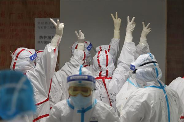china celebrates   victory   over corona virus
