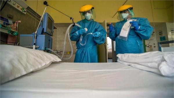 indore corona patient hospital run