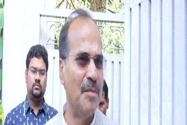 attack on congress leader adhir ranjan chowdhury house