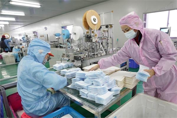 china hands over billions of rupees of medical equipment to spain
