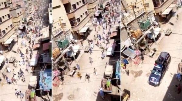 karachi police attack police for stopping jummah prayers