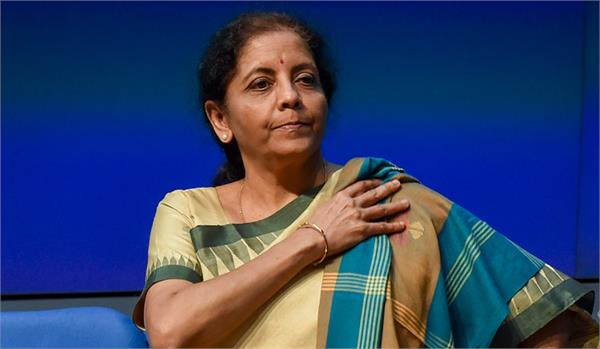 nirmala sitharaman donates rs 1 lakh from salary