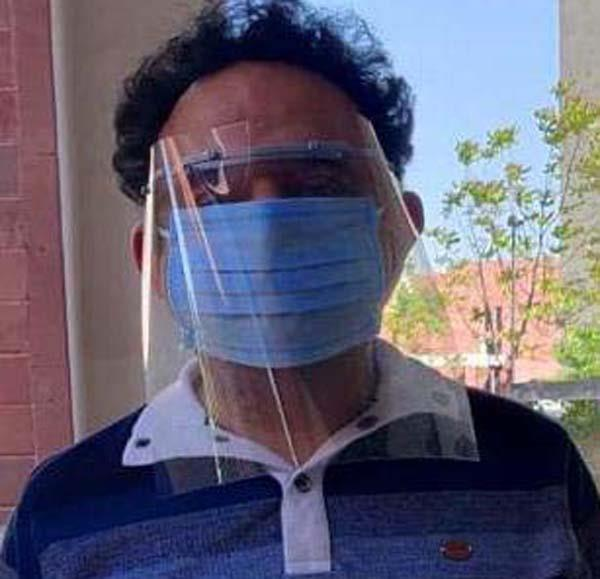 ikgptu recommended steps to protect corona  face shields created