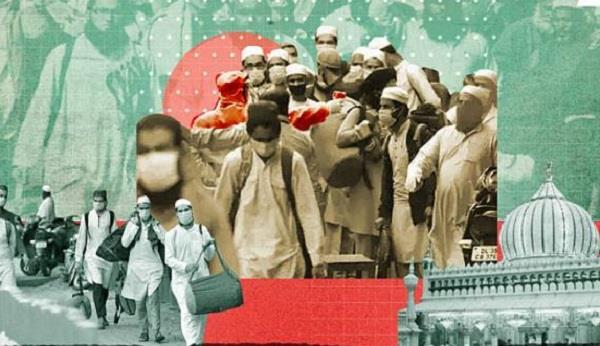 is corona jihad like the direct action of 1946