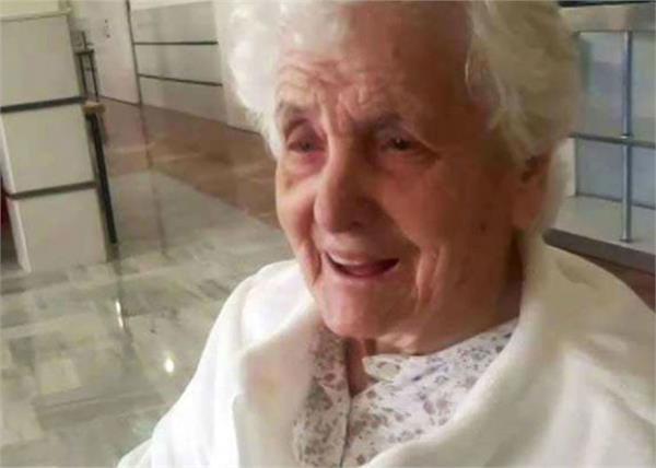 spain  107 year old babe beats corona  also beats spanish flu