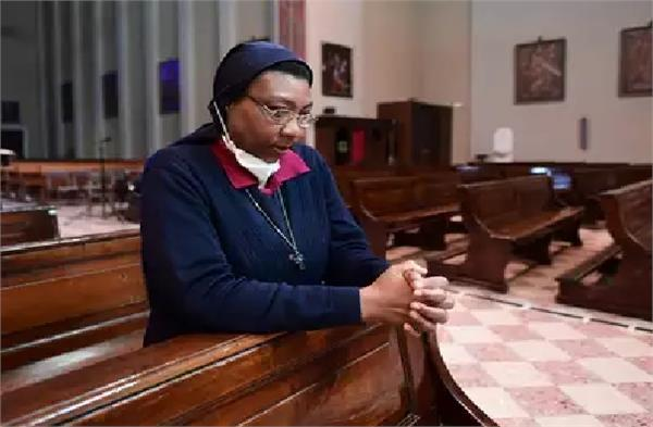 a nun of congo who fought a war with corona in italy