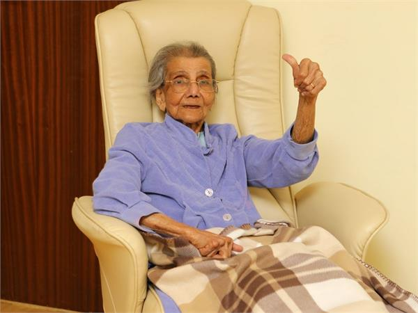 scotland indian 98 year old daphne shah coronavirus