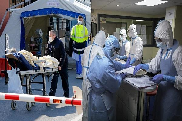 corona virus killed 499 people france