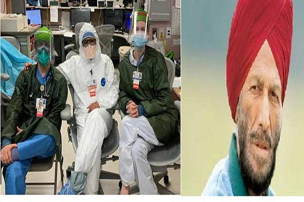 milkha singh daughter fights covid 19 pandemic