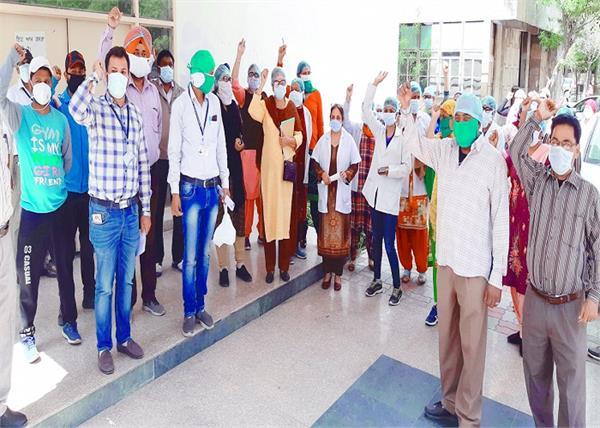 corona virus nursing staff amritsar