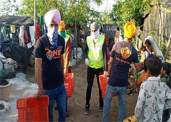corona virus khalsa aid batala