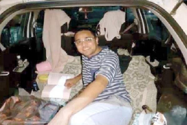 corona warriors doctor sachin nayak built home in car