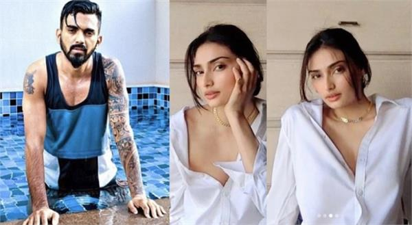 kl rahul commented on athiya shetty s latest pics