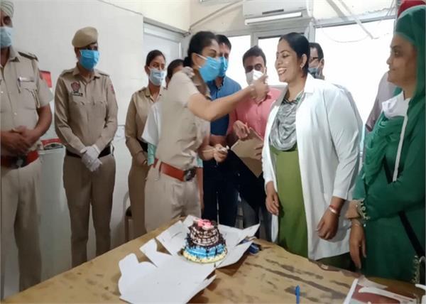 nurse  birthday party  corona virus  punjab police