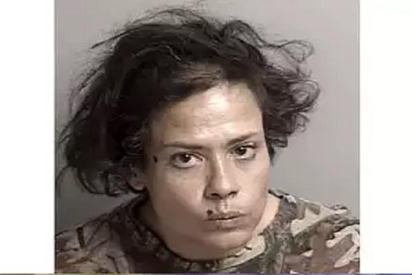 coronavirus california woman arrested licking