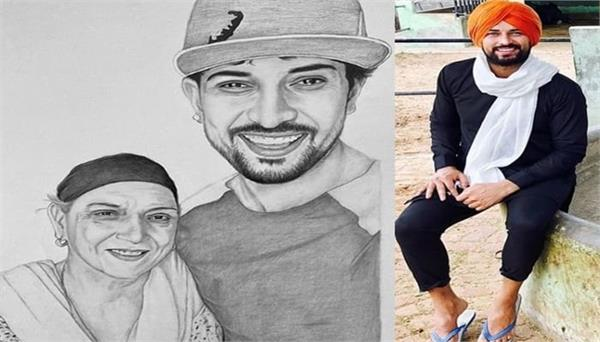 garry sandhu remember late mother through this sketch