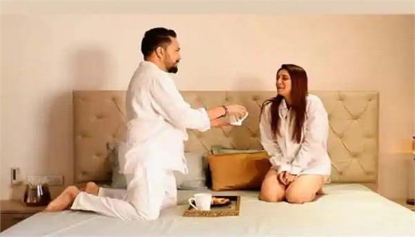 chahatt khanna shares romantic photos with punjabi singer mika singh