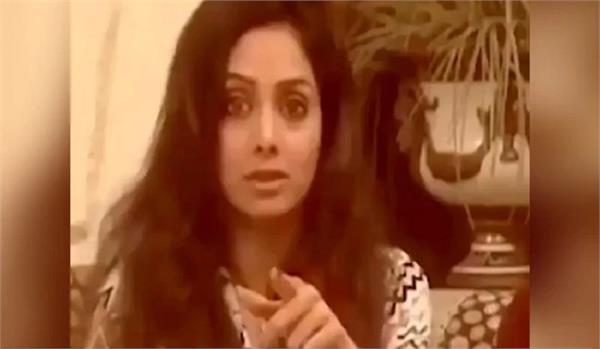 sridevi scolded khushi kapoor for interrupting interview video viral