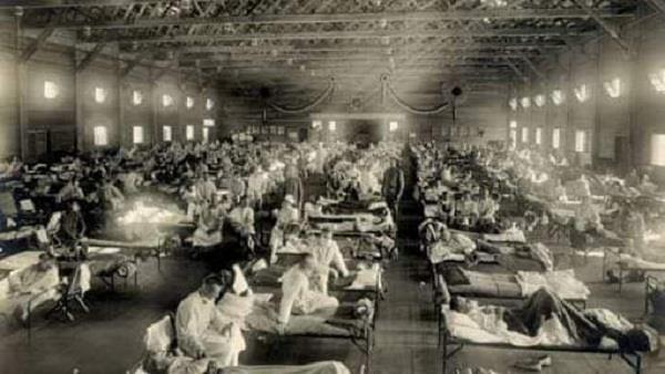 spanish flu and coronavirus symptoms