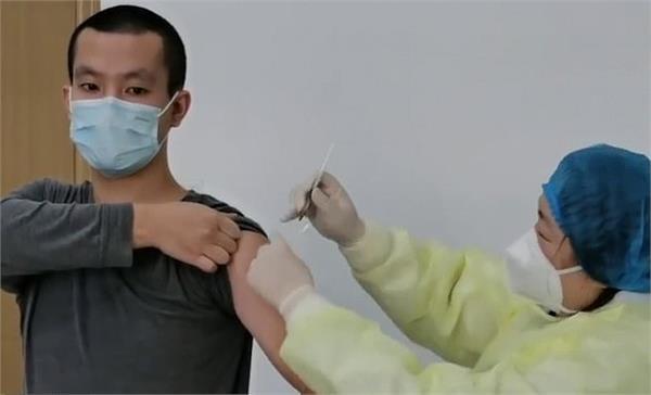 first volunteers receiving potential coronavirus vaccine in good health