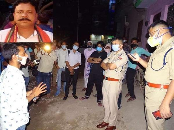 bjp leader shot dead in bareilly