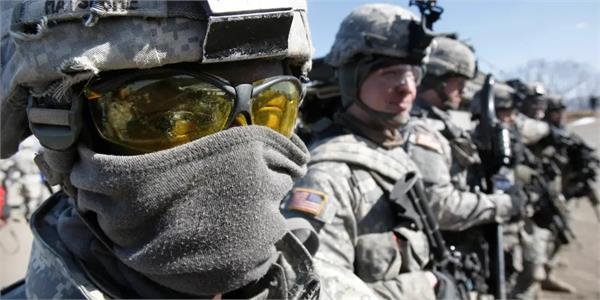 more than 1 000 u s  troops deployed on duty corona positive
