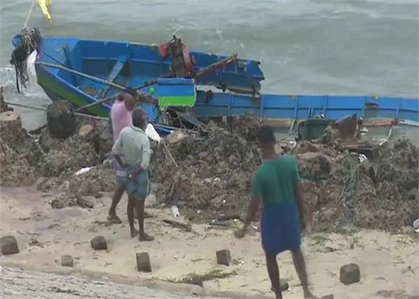 amphan turned into a cyclone  will hit the coasts of west bengal on may 20