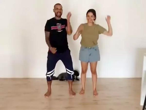 dhawan  s daughter dances with alia