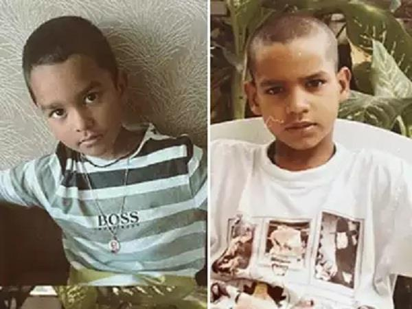 childhood photo shared by dhawan with son zorawar