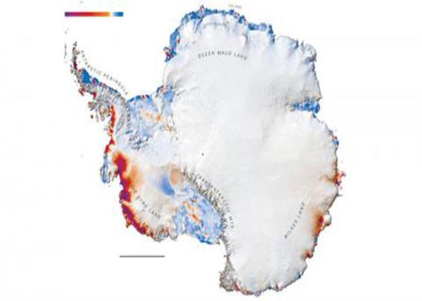 antarctica  scenes from space that scientists have never seen before