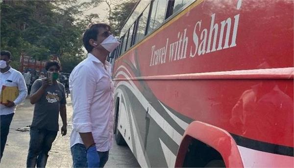 sonu sood has arranged buses for up migrant actor said its emotional journey