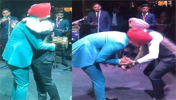 ranjit bawa shares his beautiful video with satinder sartaaj