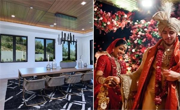 priyanka chopra and nick jonas luxury home los angeles inside pictures