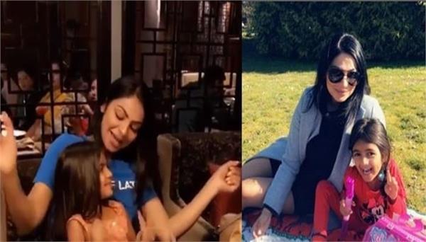 neeru bajwa shared her throwback video with daughter ananya
